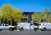 Sienna at Riverview Apartments Exterior Painting - 711 N Evergreen Rd Mesa AZ 85201 1222