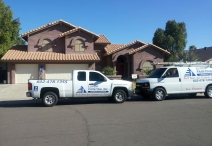 EXTERIOR HOUSE PAINTING IN TEMPE, AZ 1