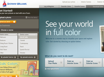 COLOR FINDER Interior And Exterior Home Paint Colors